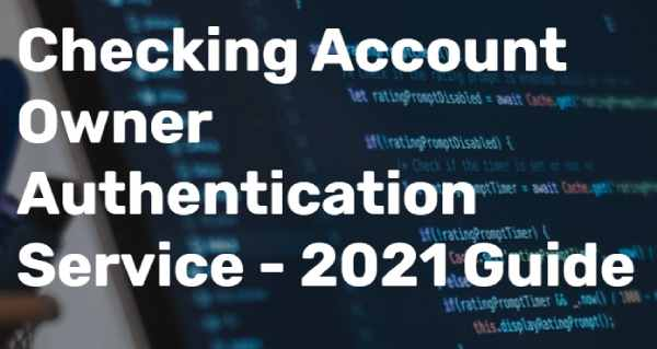 Risk Mitigation For Your Business Checking Account Ownership Authentication Systems